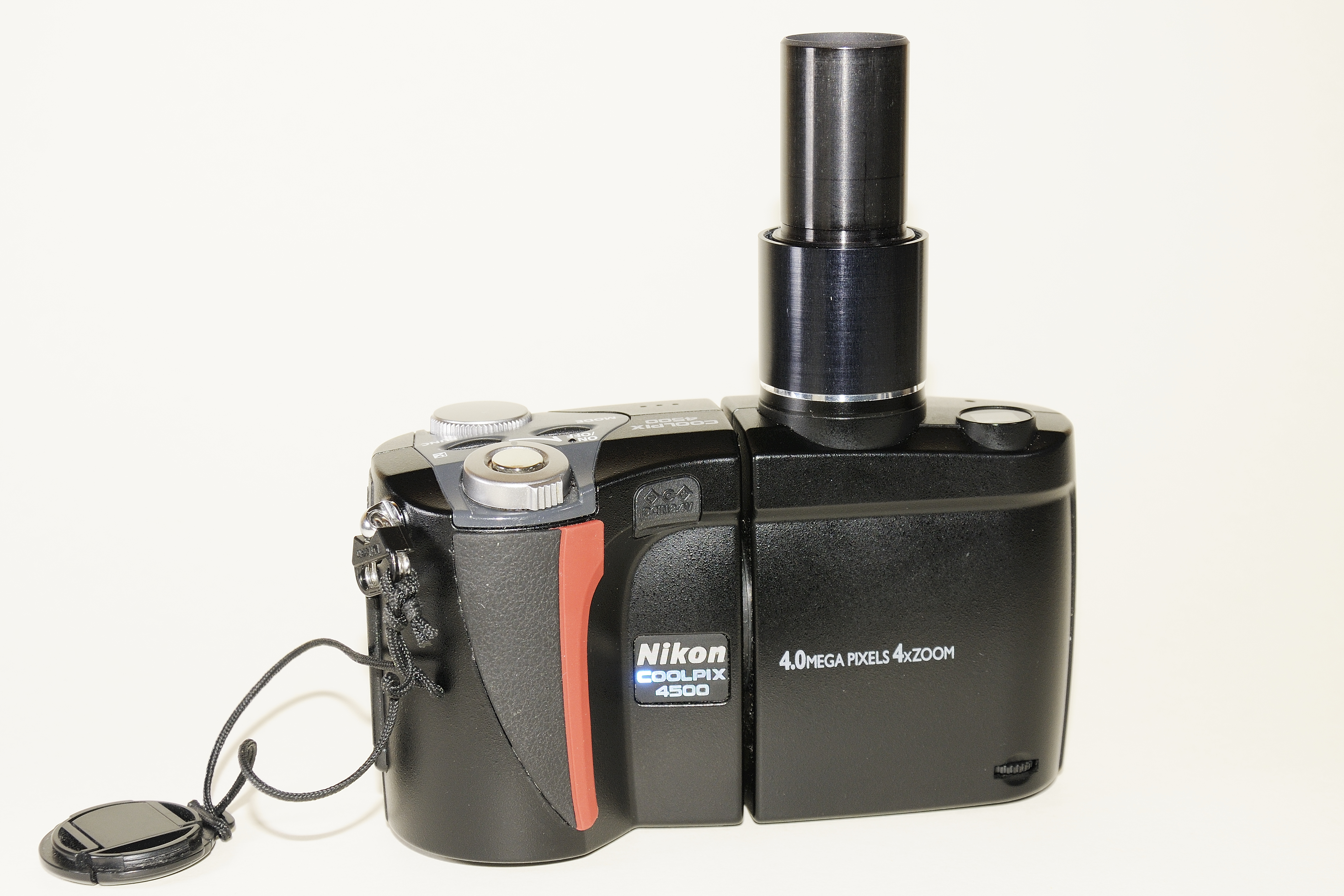 Adaptieren einer digitalkamera an ein schülermikroskop