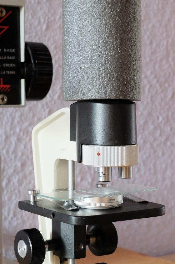 2.Zirkularpolarisationsfilter unter dem Objektträger